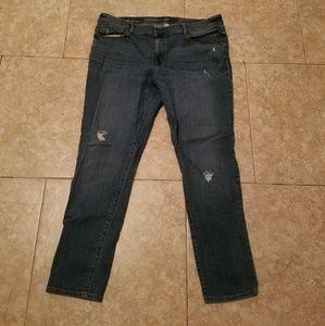 Loft size 16 boyfriend jeans